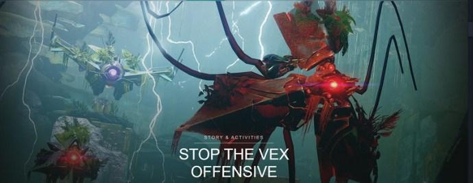 destiny 2 start vex invasion