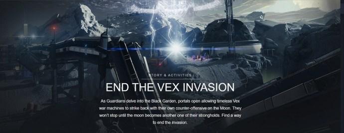 how to start vex invasion
