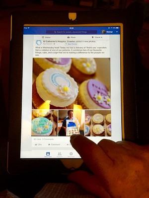 Share iPad photos on Facebook