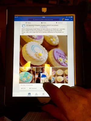 Share Photos from an iPad to Facebook
