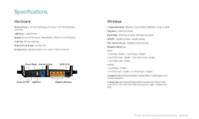 tp link ac1750 setup without modem