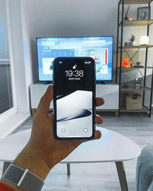 Samsung TV: Activate screen mirror