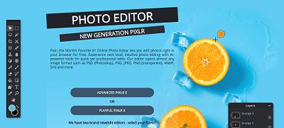 use eraser in the pixlr app