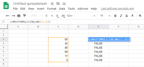 ISBLANK Function and How to Use It
