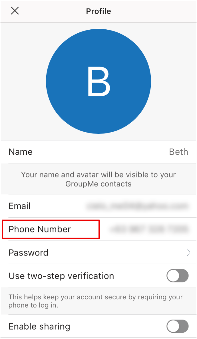 Groupme Change Phone Number : groupme, change, phone, number, Change, Phone, Number, GroupMe