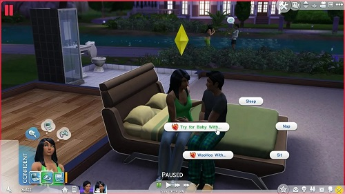 Twins in Sims 4
