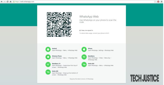 Whatsapp-Web-Tech-Justice