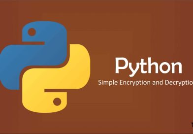Simple Encryption and Decryption Python