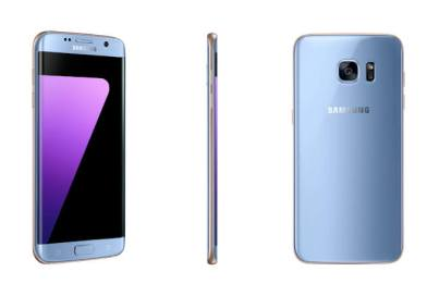 Samsung Galaxy S8 duo leaks in coral blue