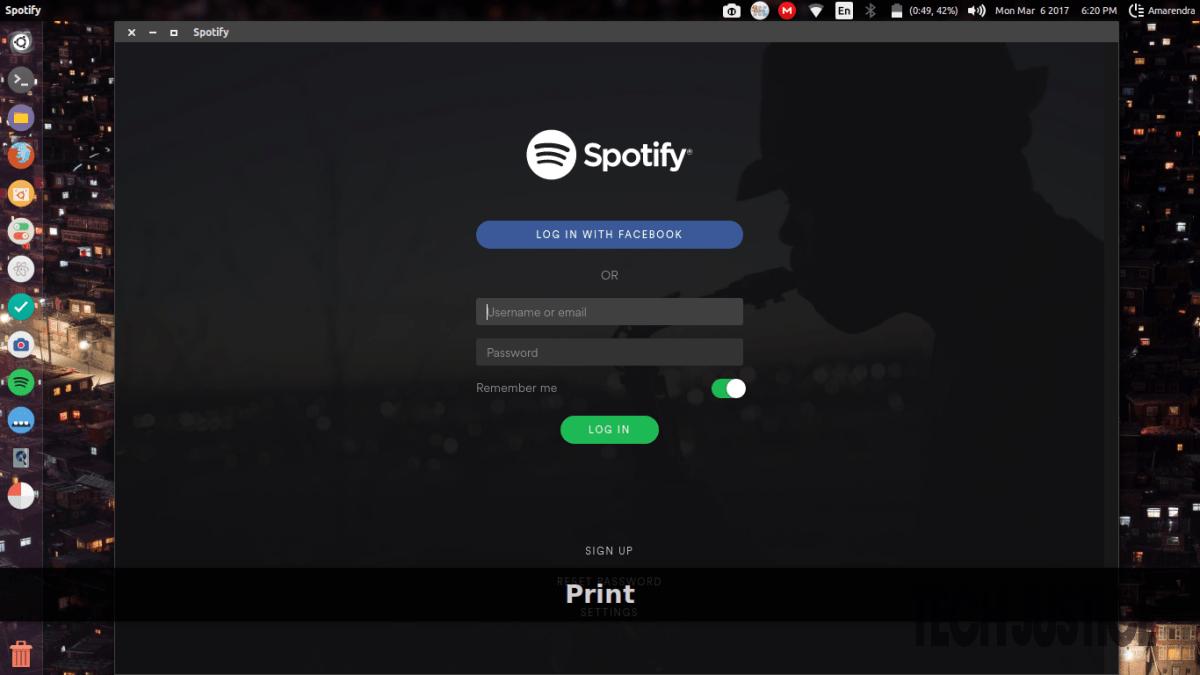Install Spotify in Ubuntu & Linux Mint