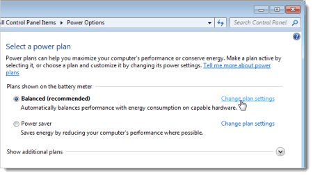 sleep vs hibernation - clicking_change_plan_settings