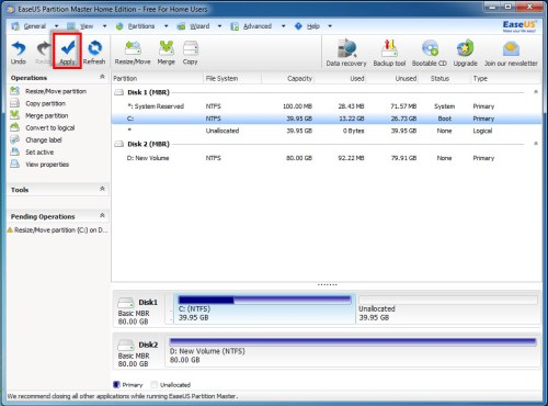 EaseUS Partition Master Home Edition - 04