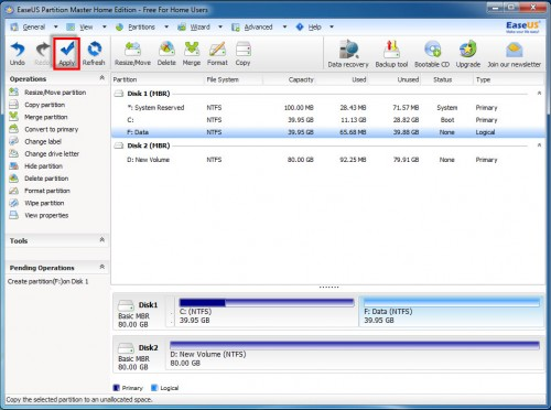 EaseUS Partition Master Home Edition - 09