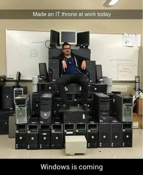 IT throne