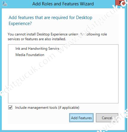 Windows Server 2012 R2 Masaüstü İkonlarının Aktifleştirilme