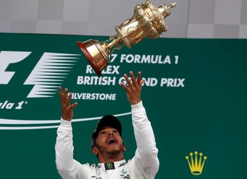 Formula1 2017 Britanya Kazananı Hamilton