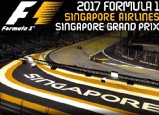 Singapur 2017 GP Yarışı Lideri Hamilton