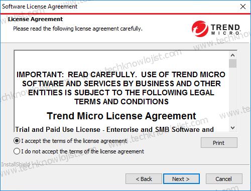TrendMicro OfficeScan XG Kurulum