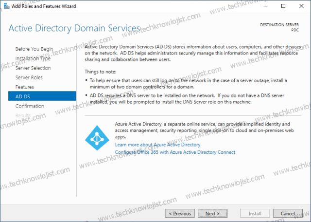 Windows 2022 Active Directory Installation