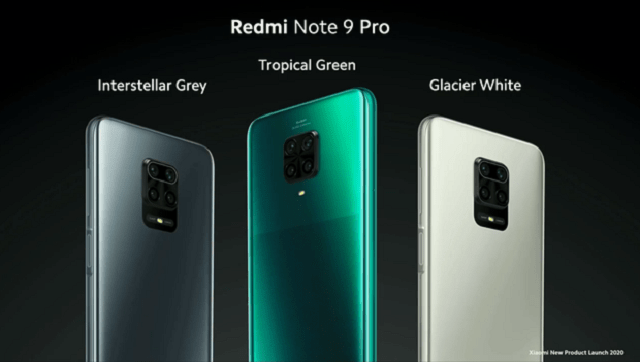 Xiaomi Redmi Note 9 series