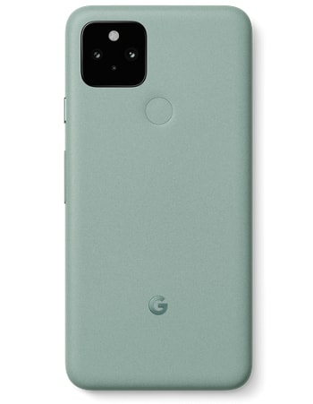 Google Pixel 5 seen in green