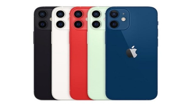 iPhone 12 colors models