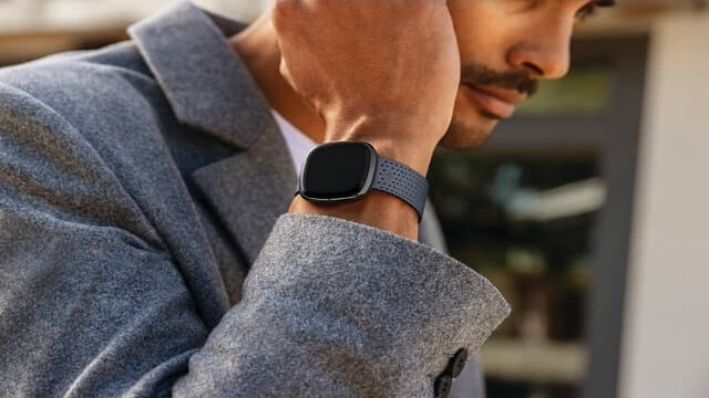Measure blood pressure on Fitbit watches