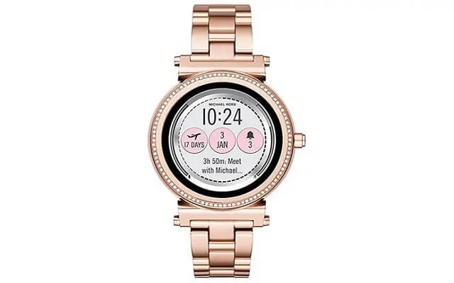 Michael Kors Access to Sofie Smartwatch with touchscreen