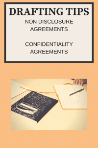 How to Draft a Non-Disclosure (Confidentiality) Agreement