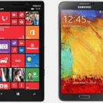 """Galaxy S5 vs Lumia 1520:""""Battle of the Flagships"""" 3"""