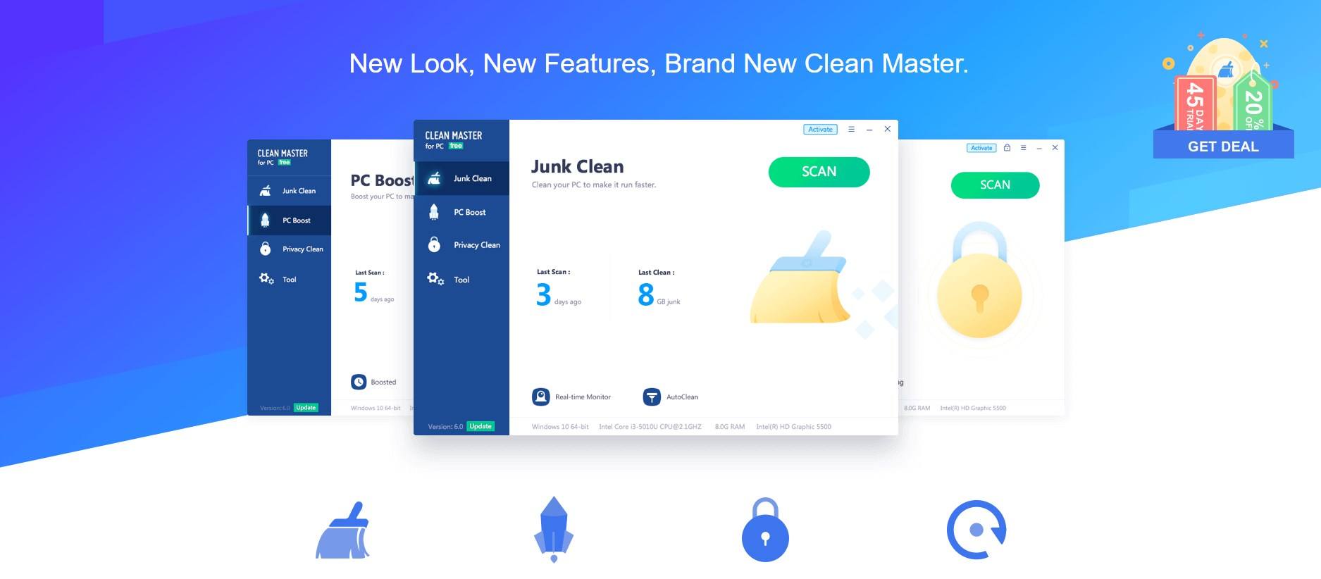 Clean Master For PC : Quick Review