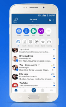 bluemail - best email apps