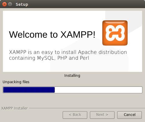 installation of xampp