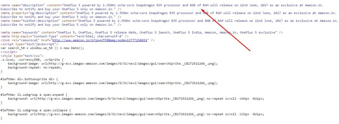 oneplus 5 amazon source code