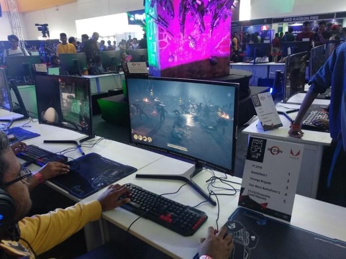 AMD GAMEON 2018: The Dark Horse Of Comic Con Hyderabad 4