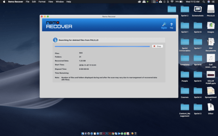 remo recover working