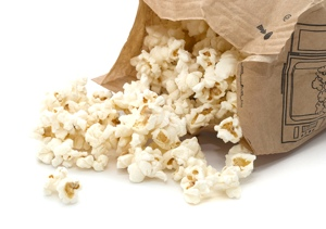 microwave popcorn for the perfect bag