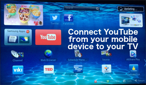 How To Connect YouTube From Your Mobile Device To Your TV