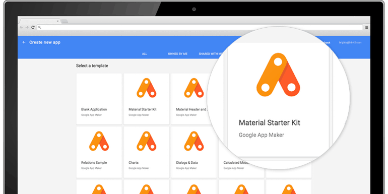 Develop Custom Enterprise Apps with App Maker by Google