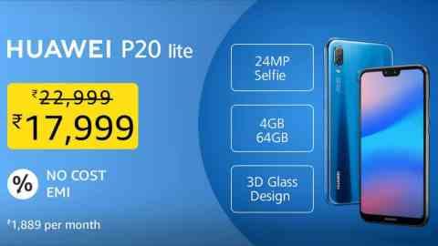 Huawei P20 lite | No Cost EMI