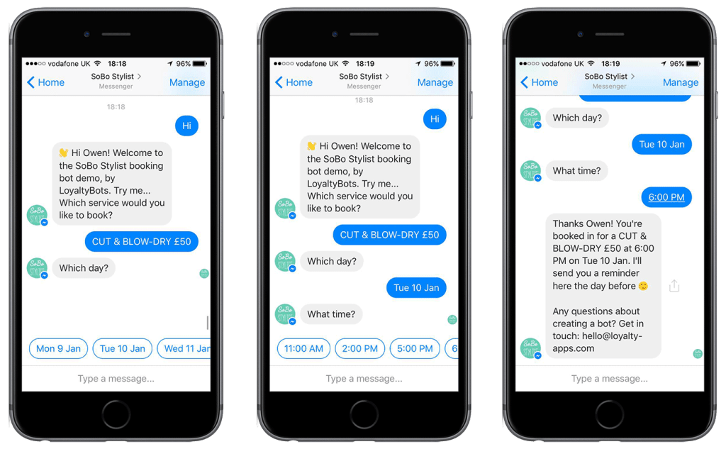 Use Chatbots to Offer Specialised Services