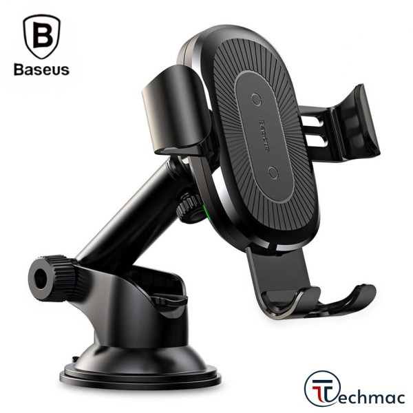 Baseus Osculum Suction Wireless Gravity Car Charger Price In Pakistan