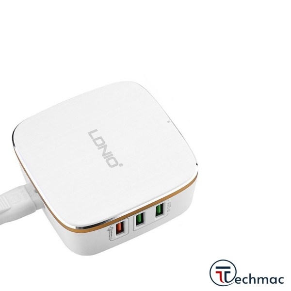 LDNIO A6704 Desktop Charger Quick Charge 3.0 6 USB Ports Price In Pakistan