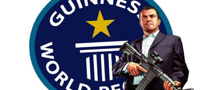 GTA 5 Guinness World Records