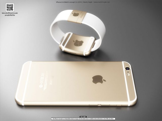 iWatch - iPhone 6