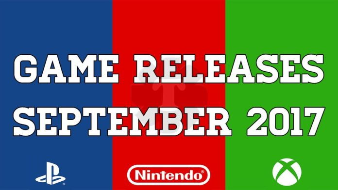 Game releases september 2017