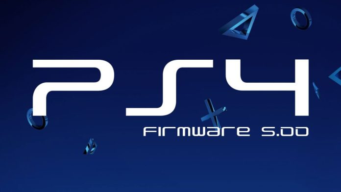 PS4 firmware 5.00