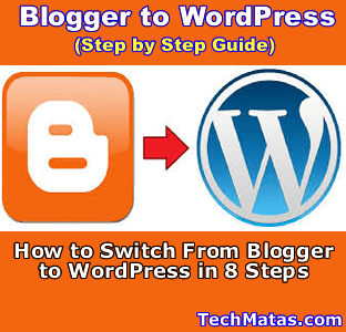 switch from blogger to wordpress without loosing traffic