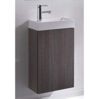 VBChome® Badmöbel Waschbecken mit Unterschrank in Farbe ...