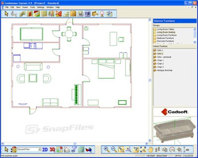 envisioneer express free home design software House Design Free